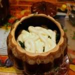 Пельмени в горшочке под майонезом