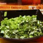 Базилик и зеленый лук
