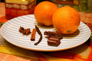Будущие цукаты в шоколаде