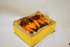 Цукаты из апельсинов в шоколаде готовы