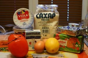 Продукты для творожного чизкейка