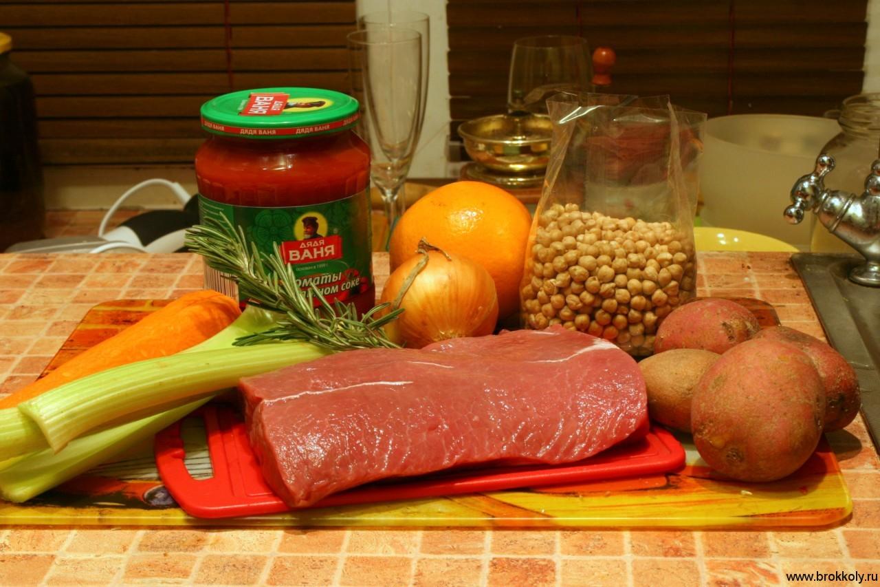 гороховый суп рецепт с говядиной рецепт с фото
