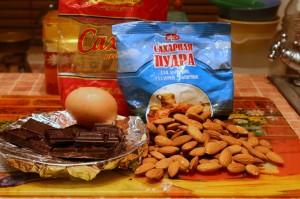 Продукты для конфет из марципана