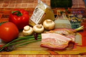 Продукты для вкусного соуса к макаронам