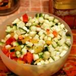Вторая чашка с овощами
