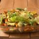 Запеченное куриное филе с овощами и фенхелем